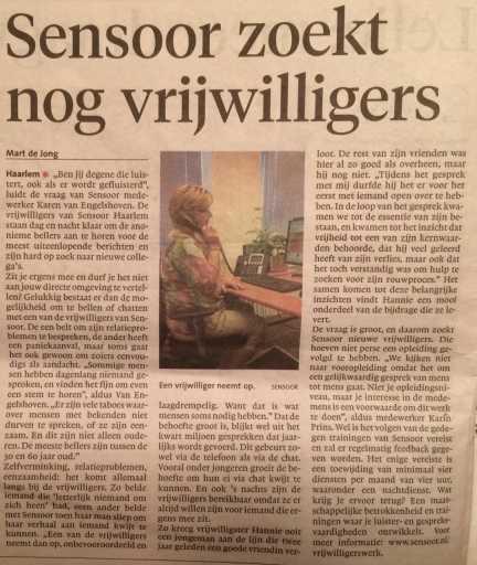 Februari 2017 Haarlems dagblad