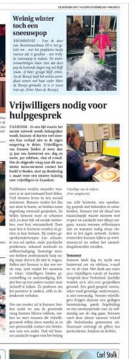 18 1, Zaans Stadsblad